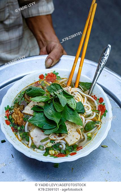 Noodles soup, Ho Chi Minh City (Saigon), Vietnam