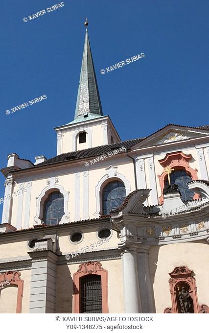 St  Thomas Church, Mala Strana, Prague, Czech Republic
