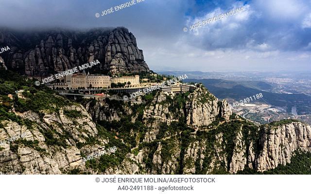 Abbey of Montserrat. Barcelona. Catalunya. Spain