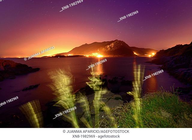 Sonabia at sunset, Castro Urdiales, Cantabria, Spain, Europe