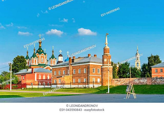 Brusensky Assumption Convent in Kolomna, the Golden Ring of Russia
