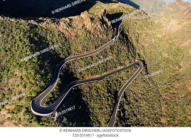 Serpentines to Masca, Tenerife, Canary Islands, Spain