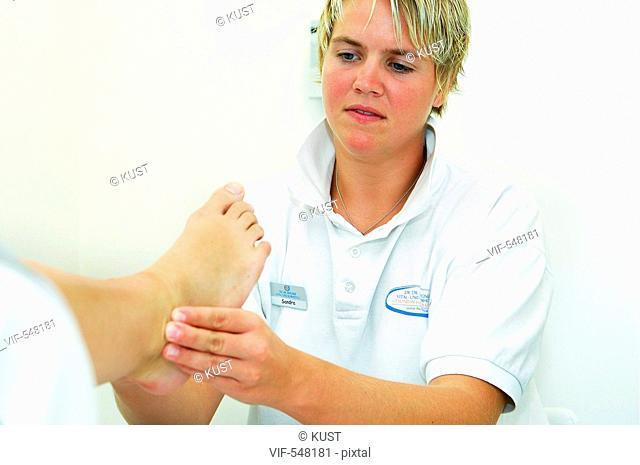 Patientin in Kurhotel. - Austria, 30/07/2007