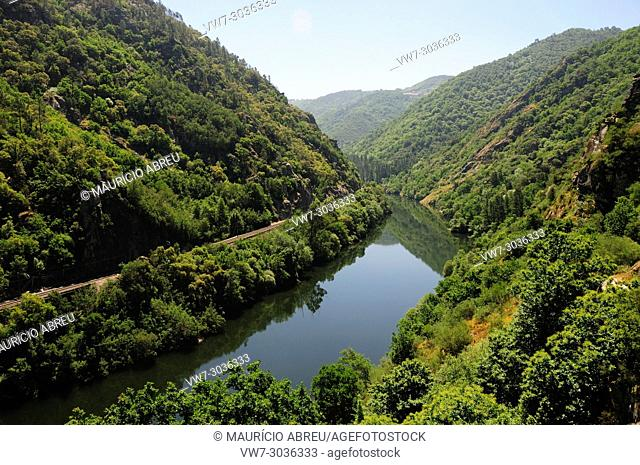 Valley of the Sil river. Galicia, Spain