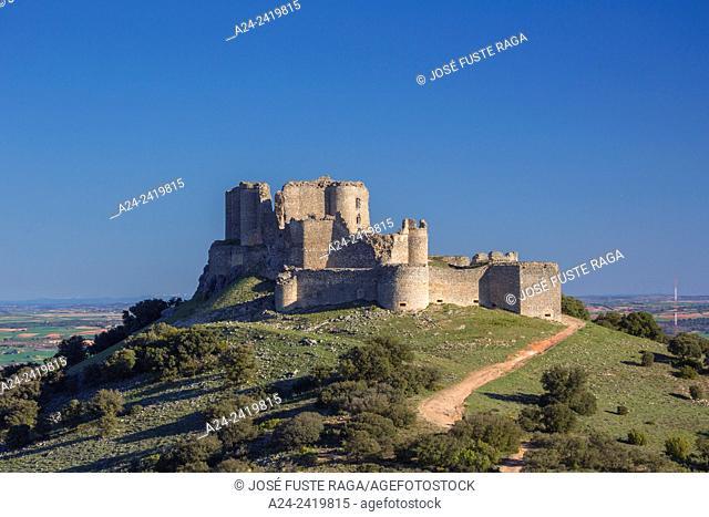 Spain ,Cuenca province , Puebla de Almenara Fortress