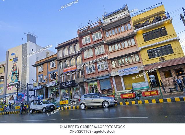 Street Scene, Kathmandu, Nepal, Asia