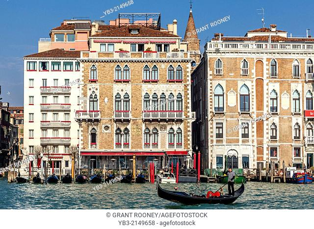Hotel Bauer Palazzo, The Grand Canal, Venice, Italy