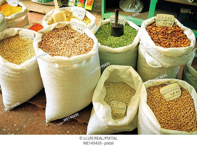 Legumes for sale