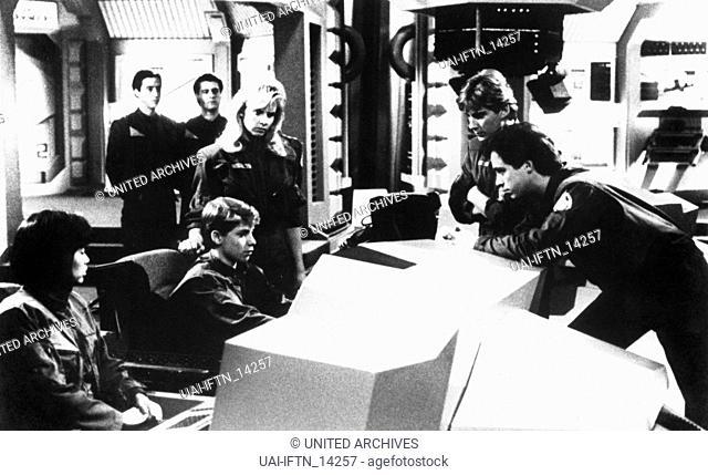 Die Galaxis der Gesetzlosen aka. Earth Star Voyager, Series USA 1988 Regie: James Goldstone Darsteller: Dinah Gaston, Jason Michas, Julia Montgomery