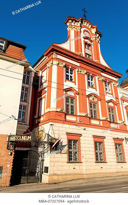 Poland, Wroclaw, old town, Ossolineum