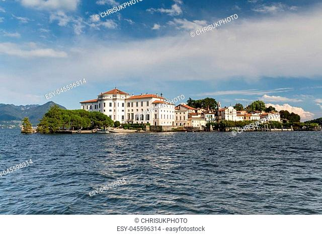 Isola Bella in Lake Maggiore near Stresa in Italy - opulent and luxurious