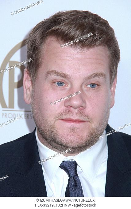 James Corden 01/28/2017 The 2017 Producers Guild Awards held at The Beverly Hilton in Beverly Hills, CA Photo by Izumi Hasegawa / HNW / PictureLux