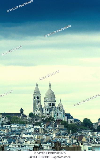 Montmartre and Basilica Sacre Coeur