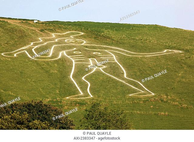The Cerne Abbas Giant, also referred to as the Rude Man or the Rude Giant, is a figure of a giant naked man on a hillside near the village of Cerne Abbas to the...