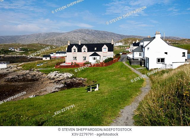 Europe, Scotland, Outer Hebrides - the island of Scalpay or Sgalpaigh
