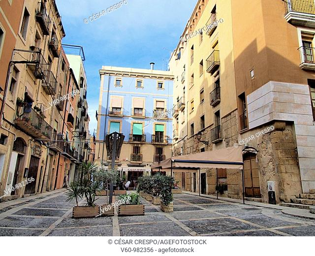-Houses Sorrounding Cathedral of Tarraco- Tarragona(Spain)