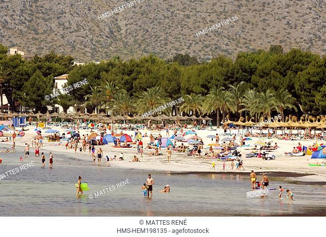 Spain, Balearic Islands, Majorca, Alcudia