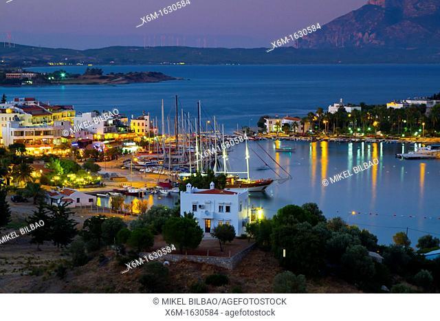 Harbour  Datca city  Datca peninsula, Mugla province, Anatolia, Turkey