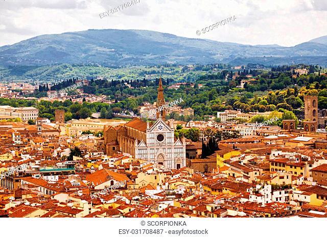 Basilica Santa Croce, Fl;orence, Italy