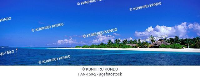 Beach Scene, Maldives, No Release