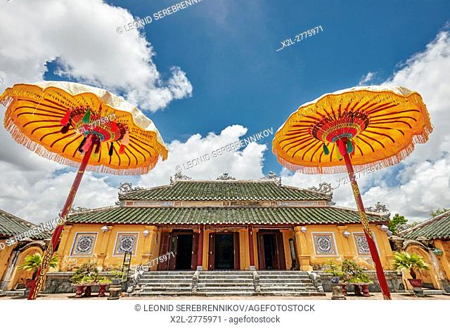 Truong Sanh Palace. Imperial City (The Citadel), Hue, Vietnam
