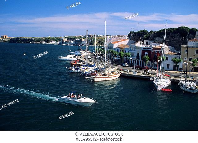 Port of Mahon  Minorca, Balearic Islands  Spain