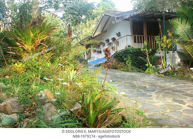 Sustainable house, San Eusebio Cloud Forest, Merida, Venezuela