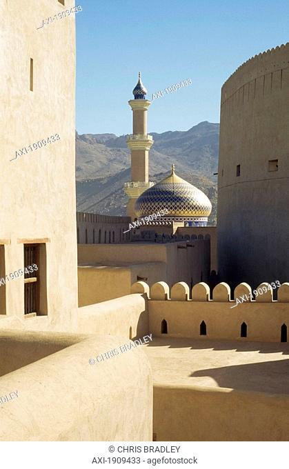 Main Mosque Seen From Fort,Nizwa,Oman