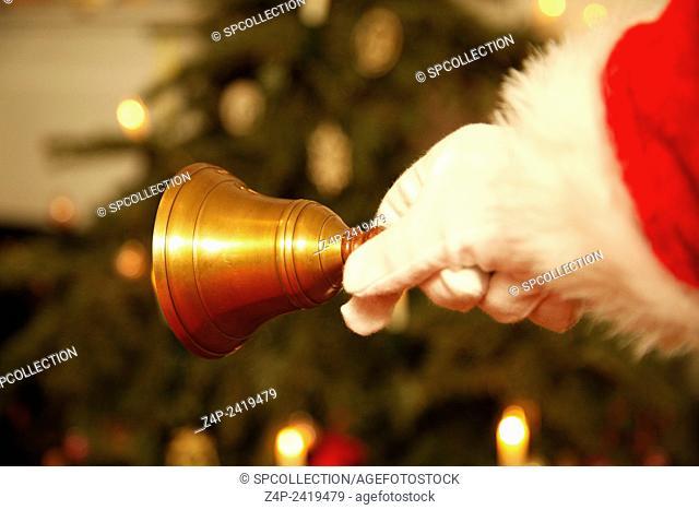 ringing christmas bell
