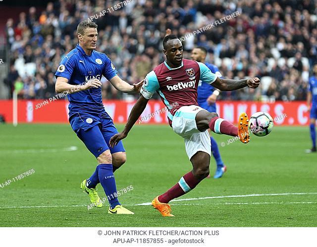 2017 Premier League Football West Ham v Leicester City Mar