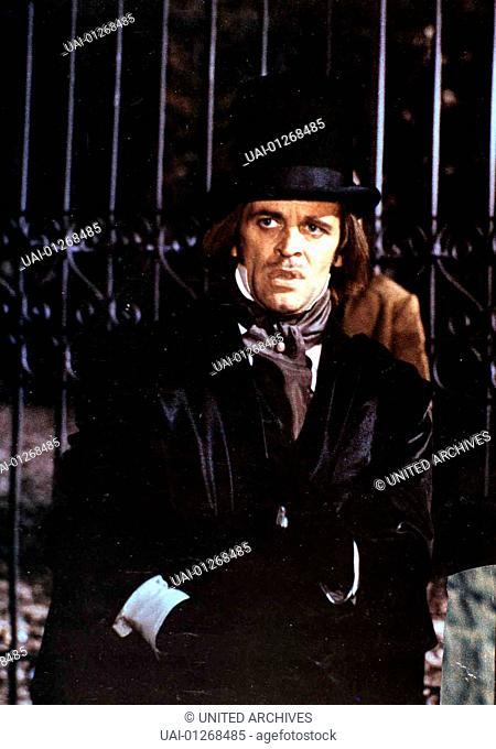 Edgar Allan Poe (Klaus Kinski) *** Local Caption *** 1971, Dracula Im Schloss Des Schreckens (Edgar, Dracula Im Schloss Des Schreckens