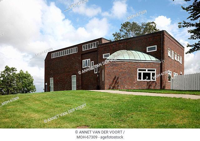 D, Seebüll, Schleswig-Holstein, Nolde-Museum erbaut 1927-1937, Exteriör, Garten