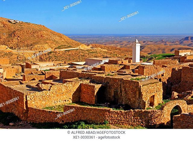 Toujane, Berber village, Tunisia