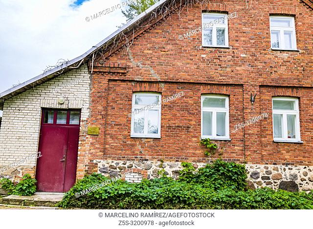 Exterior Kolkja Museum of Old Believers. Russians whose ancestors went against reforms in the Russian Orthodox Church 300 years ago and for centuries were...