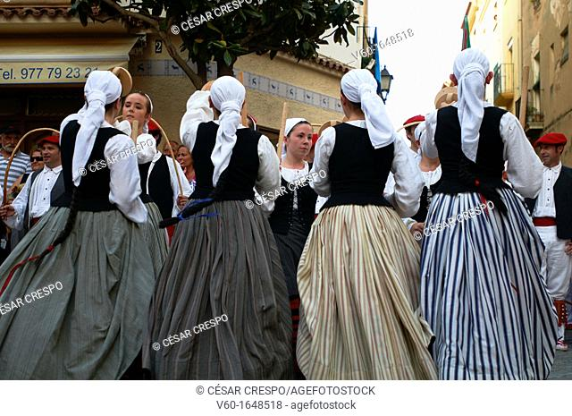 "-Traditional ""Vascos"" Dancers- Spain"