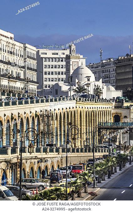Algeria, Argel City, Djemaa El-Djedid Mosque, UNESCO, Ernesto Che Guevara Boulevard