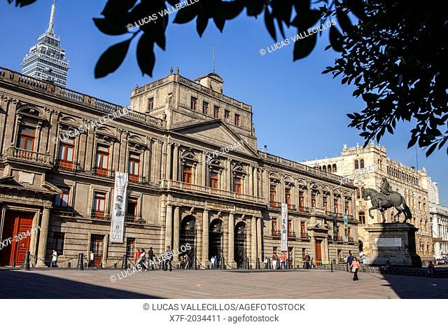 Escuela de Mineria, Plaza de Manuel Tolsá, Mexico City, Mexico