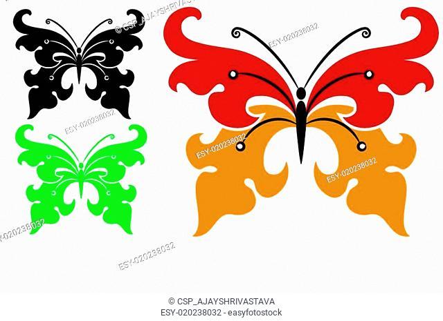 Tattoo Butterfly Design