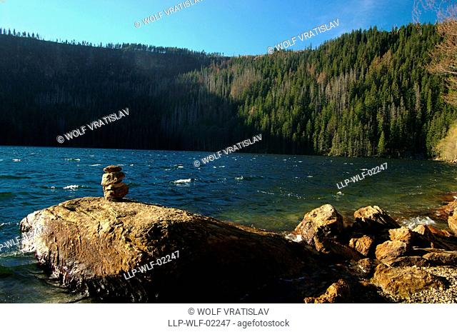 Black Lake, Sumava National Park, the Southwestern Bohemia, Czech Republic