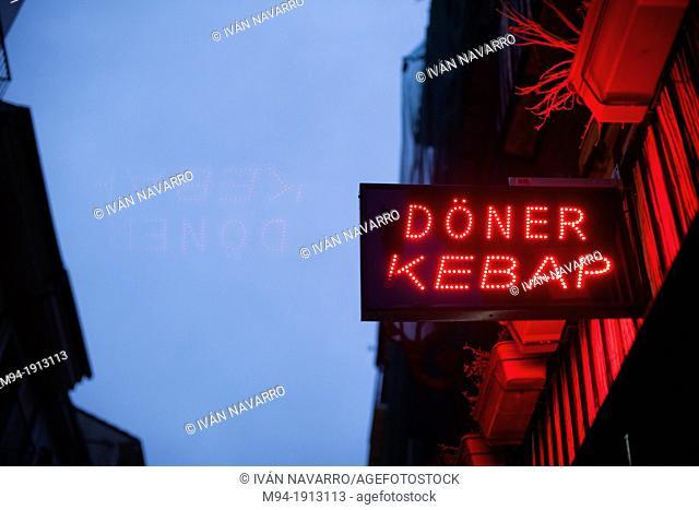 Doner Kebap sign