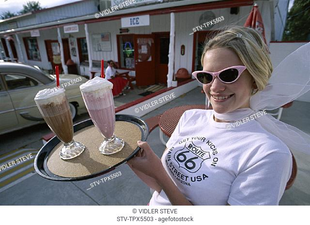 America, American, Arizona, Cream, Diner, Dress, Fifties, Floats, Fountain, Holiday, Ice, Landmark, Model, Released, Route 66, S