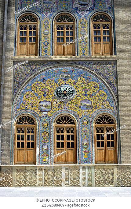 Iran Tehran- Golestan palace