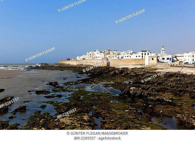 View of the Medina, a UNESCO World Heritage Site, Essaouira, region of Marrakech-Tensift-Al Haouz, Morocco, Maghreb, Africa