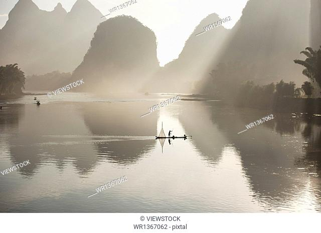 Guilin, Yangshuo scenery