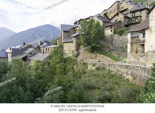 Durro village in Boi valley Lleida Catalunya Spain