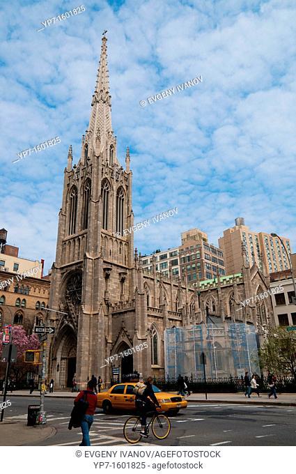 Grace Episcopal Church in Manhattan, New York