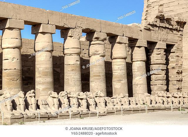 Karnak Temple, Luxor, Egypt, Africa