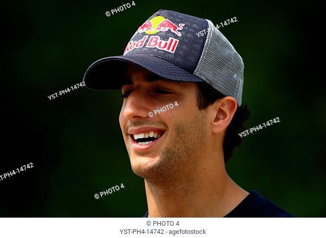 Daniel Ricciardo AUS, Chinese Grand Prix, Shangai, China