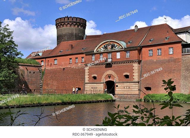 Water ditch, Spandau Citadel, Spandau, Berlin-Germany / Zitadelle Spandau