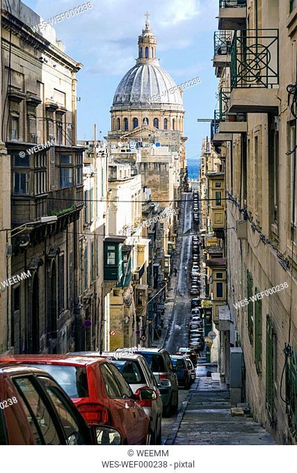 Malta, Valletta, Basilica Our Lady of Mount Carmel